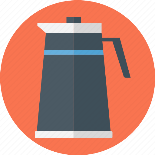 coffee, coffee jar, jar, tall icon