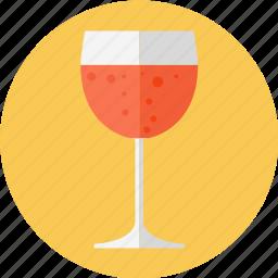 glass, glass of wine, wine icon
