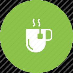 beverage, cup, drink, hot, mug, tea icon