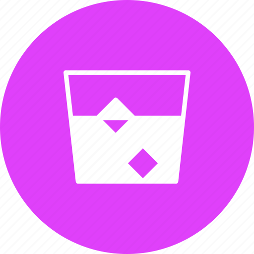 alcohol, beverage, drink, glass, ice, scotch, whiskey icon