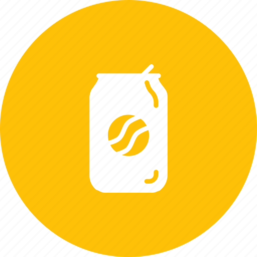 beverage, can, drink, juice, soda, tin icon