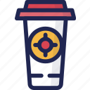 beverage, coffee, cup, drink, ice, tea icon