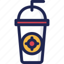 beverage, coffee, drink, tea, tumbler, water icon