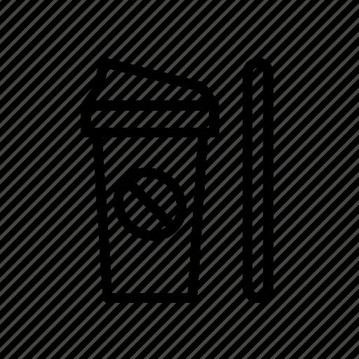 bean, beverage, coffee, drink, drinks, mug, travel icon