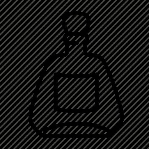 alcohol, beverage, bottle, drink, liquor, rum, whiskey icon