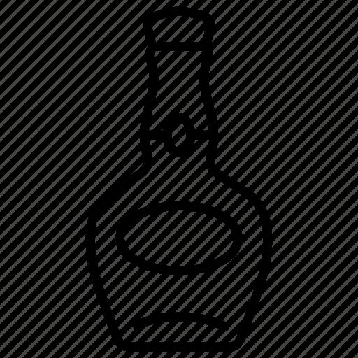 alcohol, beverage, bottle, drink, liquor, whiskey, wine icon