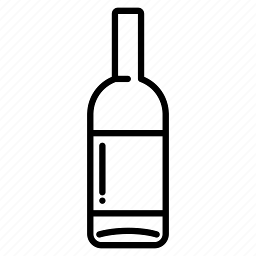 alcohol, beverage, bottle, drink, liquor, whiskey, wine icon