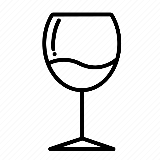 alcohol, beverage, drink, glass, soft drink, water, wine icon