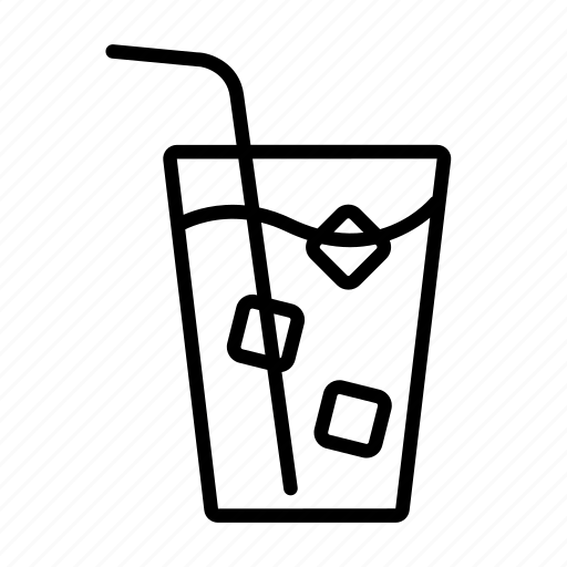 beverage, cold, cold drink, cool, drink, ice, water icon
