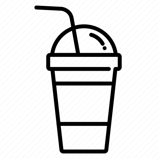 beverage, cold, cold drink, cool, drink, slush, take away icon