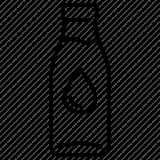 beverage, bottle, dairy, drink, glass bottle, milk, milk bottle icon