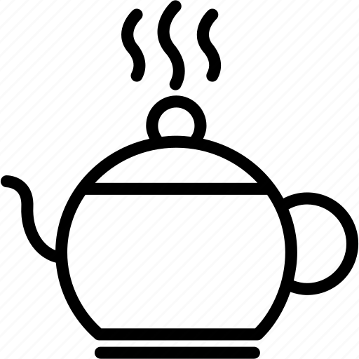 beverage, cup, drink, hot, kettle, tea, teapot icon