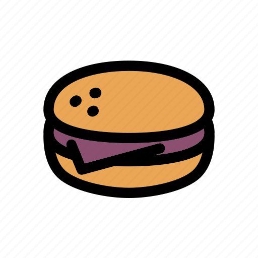 burger, cheeseburger, fast food, food, hamburger, meat, sandwich icon