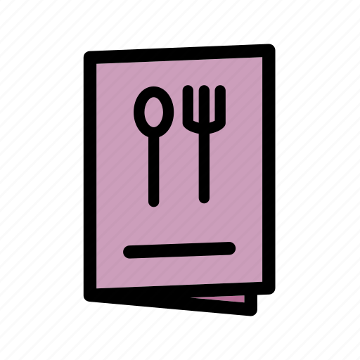 food menu, menu, menu bar, recipe book, restaurant, restaurant menu icon