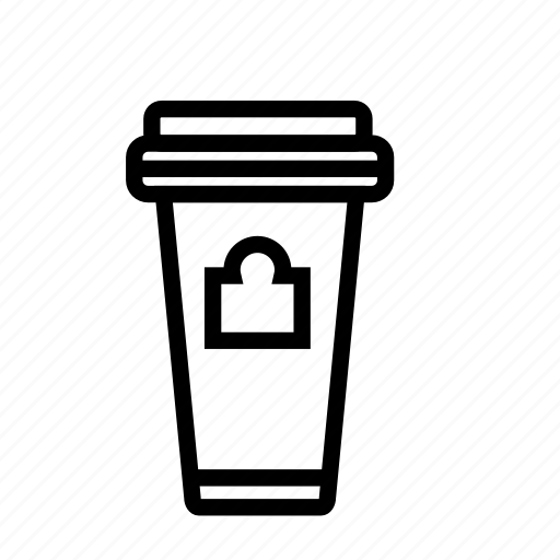 coffee, drink, glass, party icon