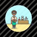 barista, coffee, filter, cup, tea, woman, drink