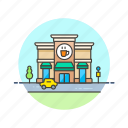 building, coffee, drink, hot, shop, store, tea icon