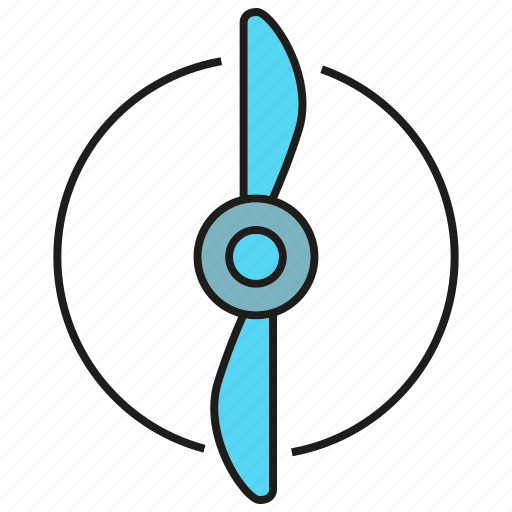 blade, energy, propeller, turbine, turbo, wind icon