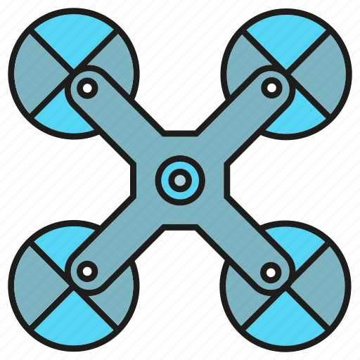 aerial, air, aircraft, aviation, equipment, flight, propeller icon