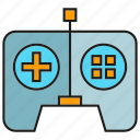 controller, device, electronic, gadget, remote icon