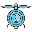 aviation, camera, drone, fly, gadget, quadrocopter, surveillance icon