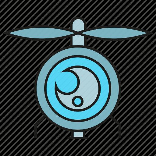 aviation, camera, drone, fly, gadget, quadrocopter, surveillance icon