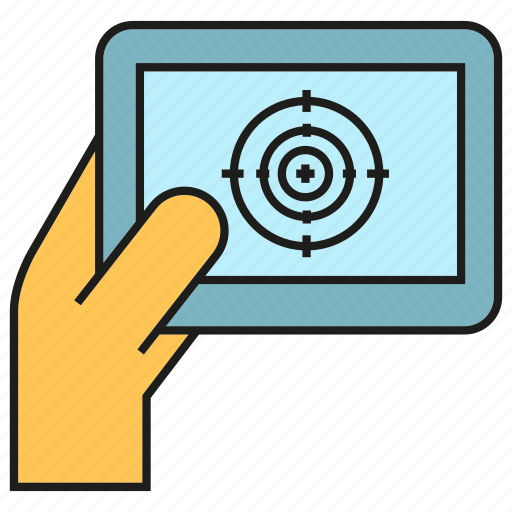 controller, hand, navigation, remote icon