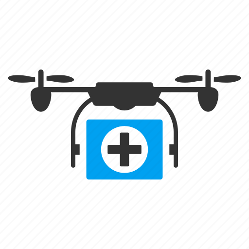 ambulance, copter, drone, emergency, medical, nanocopter, quadcopter icon