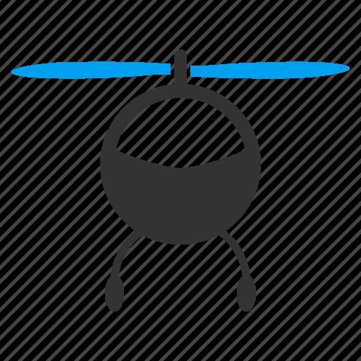 aviation, avion, chopper, helicopter, transport, transportation, vehicle icon