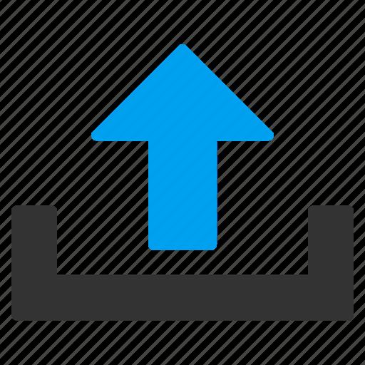delivery, load, loading, send, shipment, upload, uploading icon