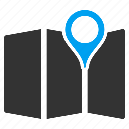 location, map, maps, marker, navigate, navigation, pointer icon