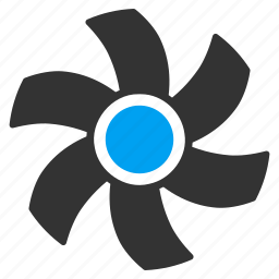 air cooler, air flow, computer fan, motor, rotor, temperature control, ventilator icon