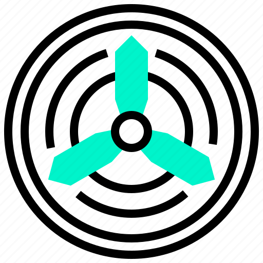 aircraft, blade, drone, propeller, spin icon
