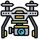 automatic, autopilot, drone, technology, unmanned icon