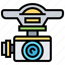 aircraft, camera, capture, drone, photo icon