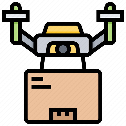 aircraft, delivery, distribution, drone, logistics icon