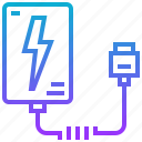 battery, charger, device, electric, power icon