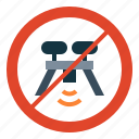drone, no, prohibition, signaling, transportation, zone