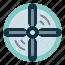 airscrew, electronics, propeller, transportation icon