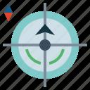 area, place, positional, radar icon