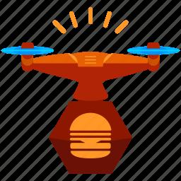 drone, food icon
