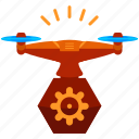 device, drone, options, preferences, settings, technology icon