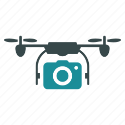 detective, multicopter, photo camera, quadrocopter, remote control, rotorcraft, spy drone icon
