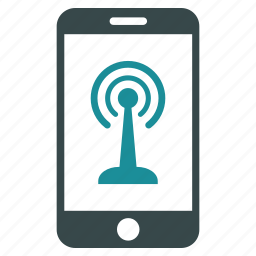 communication, connection, control, mobile, phone, radio, smartphone icon
