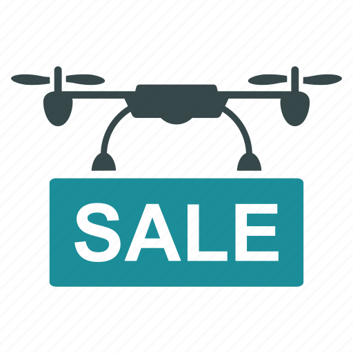 aircraft, drone, nanocopter, quadcopter, sale, shop, shopping icon