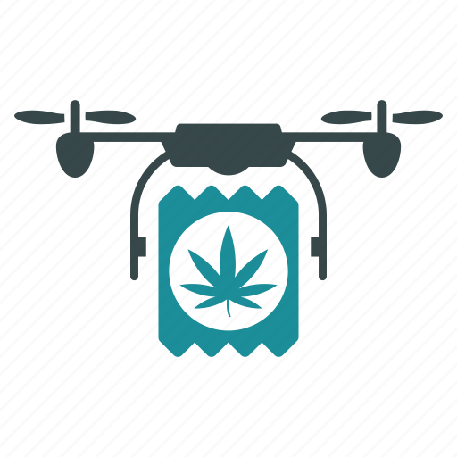 aircraft, cannabis, delivery, drone, drugs, nanocopter, quadcopter icon