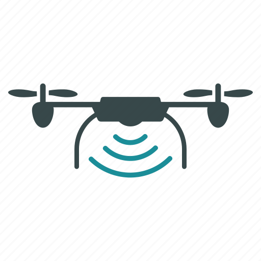 aircraft, drone, nanocopter, quadcopter, radio, transmitter, wireless icon