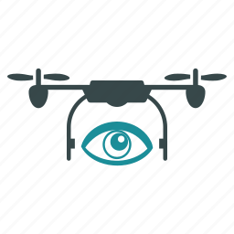 aircraft, big brother, drone, eye, nanocopter, quadcopter, spy icon
