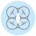 air, controller, drone, drones, fly, innovation, radio icon