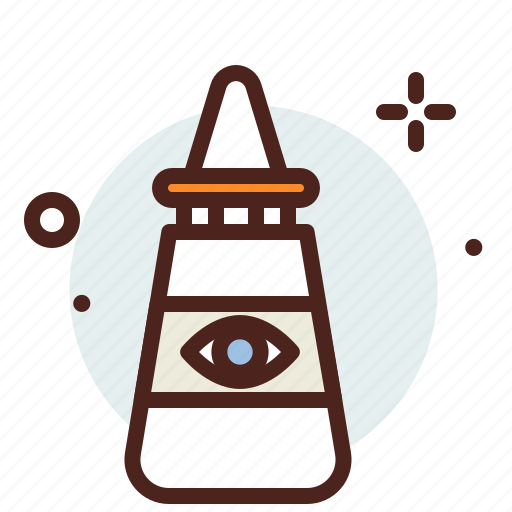 drops, eye, health, medical, pharmacy icon